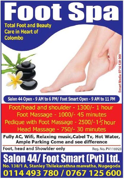 Salon 44 / Foot Smart - [Nugegoda]