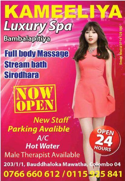 Kameeliya Luxury Spa - [Bambalapitiya   Colombo 04]
