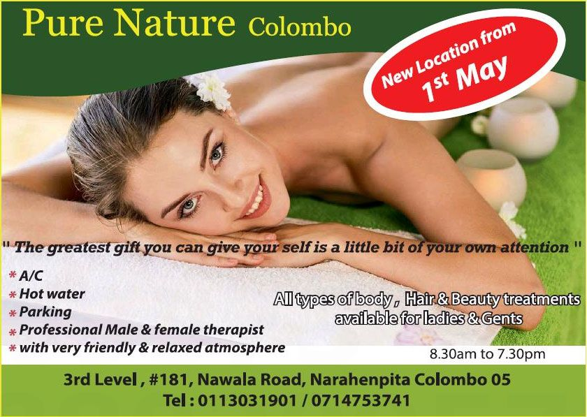 Pure Nature Colombo - [Narahenpita | Colombo 05]