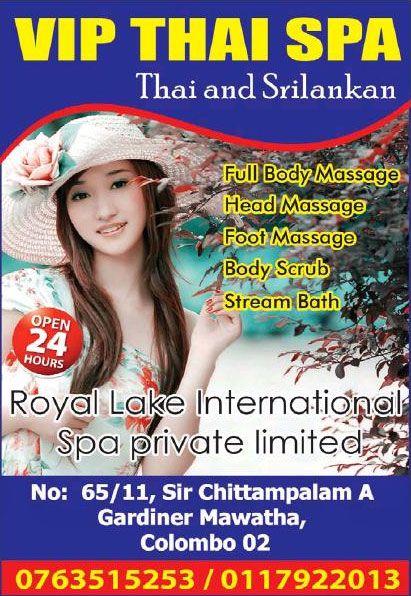 Royal Lake International Spa - [Slave Island | Colombo 02]